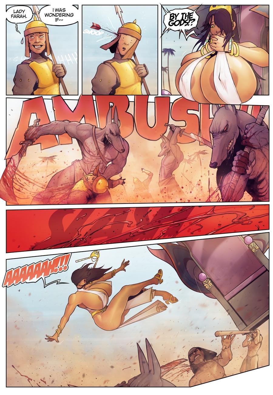 Anubis Porno tales of farah - in the shadow of anubis cartoon porn comic