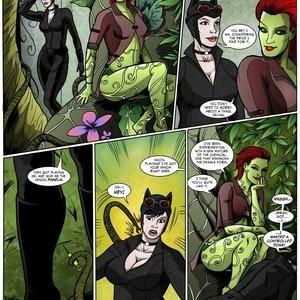 Porn Comics - Catwoman Muscle Growth Cartoon Comic
