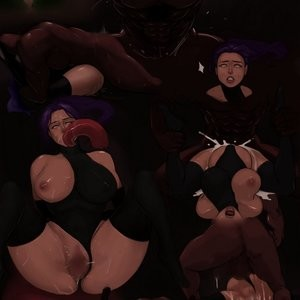 Porn Comics - Yoruichi's Downfall Cartoon Porn Comic