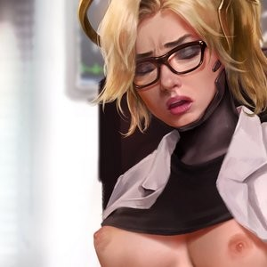 Mercy - Third Audition Porn Comic 057