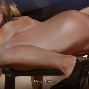 Mercy - Third Audition Porn Comic 126