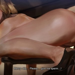 Mercy - Third Audition Porn Comic 142
