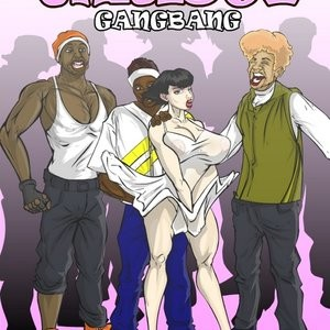 Porn Comics - Christy Gangbang Cartoon Comic