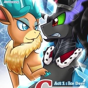 Porn Comics - Crossover Story Act 1 – Ice Deer Cartoon Comic