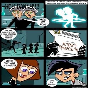 Danny Phantom - An Erotic Parody Porn Comic 004