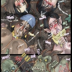 Darkspawn Party Porn Comic 008