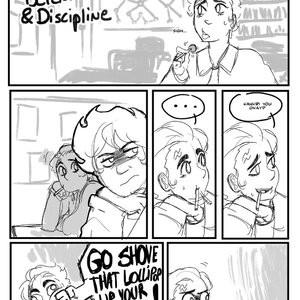 Detention & Discipline Porn Comic 001