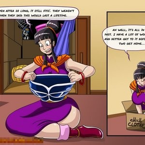 Dragon Ball Z - General Cleaning Porn Comic 005