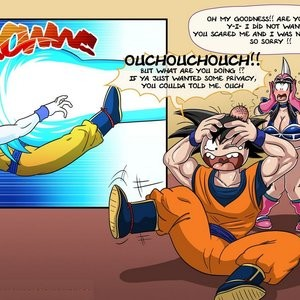Dragon Ball Z - General Cleaning Porn Comic 011