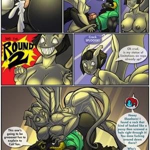 Ebonhorn - A Link To The Ass Porn Comic 006