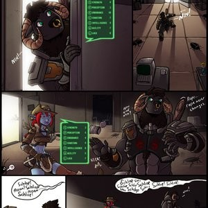 Fallout Moo Vegas Porn Comic 003