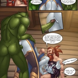 Epic Journeys & Random Encounters 2 - Booty Bay Call Porn Comic 012