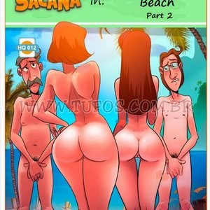 Porn Comics - Familia Sacana 12 – At The Nude Beach 2 Cartoon Comic