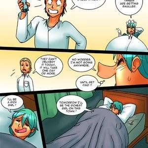 Porn Comics - Filthy Donna 25 Cartoon Comic
