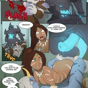 Feeding The Carry Porn Comic 008