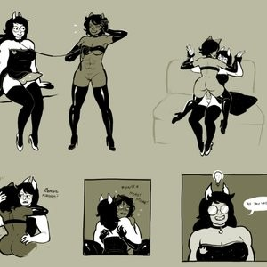 Fit & Limber Nepeta Tries To Petplay Domme Porn Comic 008