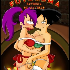 Porn Comics - Futurama – Christmas Delivery Cartoon Porn Comic