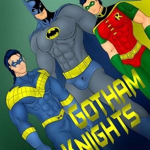 Porn Comics - Gotham Knights Cartoon Porn Comic