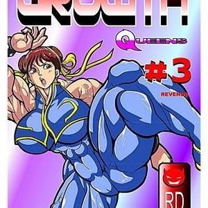 Porn Comics - Growth Queens 3 – Revenge Porn Comic