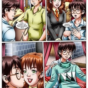 Hermione's Punishment Porn Comic 004