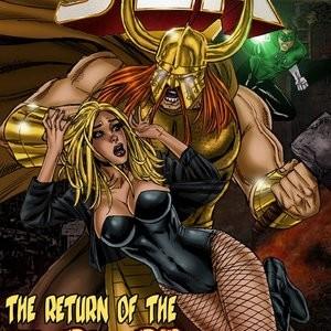 Porn Comics - JLA – The Return Of The Warlord PornComix
