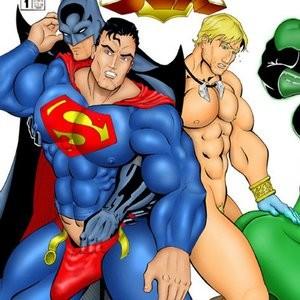 Porn Comics - JLA Sex Comic