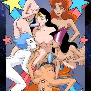 Porn Comics - Justice League 1 Sex Comic