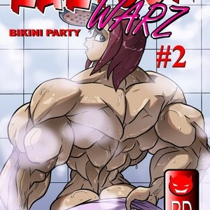 Porn Comics - Kartoon Warz 2 – Bikini Party Porn Comic