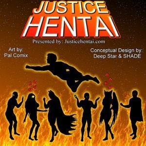 Porn Comics - Justice Hentai 1 Cartoon Comic