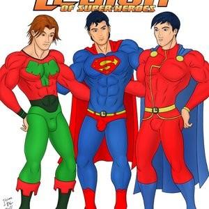 Porn Comics - Legion Of Super-Heroes PornComix