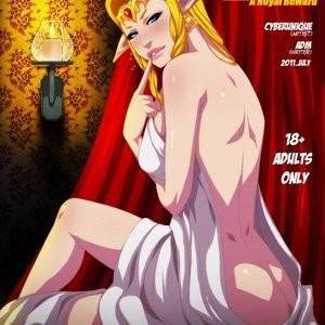 Porn Comics - Legend Of Zelda – A Royal Reward Cartoon Porn Comic