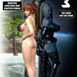 Porn Comics - Lady & Cop VS Penetrator 3 Cartoon Porn Comic
