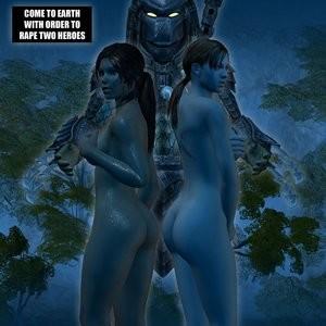 Porn Comics - Lady & Cop VS Penetrator 1 Porn Comic