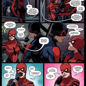 Like Spider-Father, Like Spider-Daughters Porn Comic 004