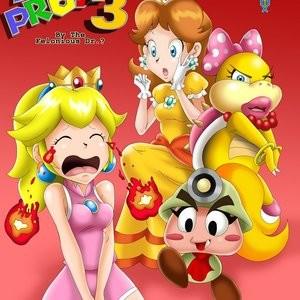 Porn Comics - Mario Project 3 Cartoon Porn Comic