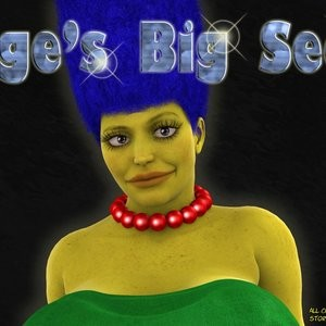 Porn Comics - Marge's Big Secret Cartoon Comic