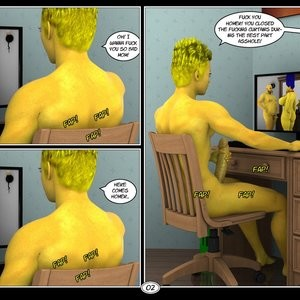 Marge's Big Secret Porn Comic 003