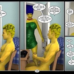 Marge's Big Secret Porn Comic 004