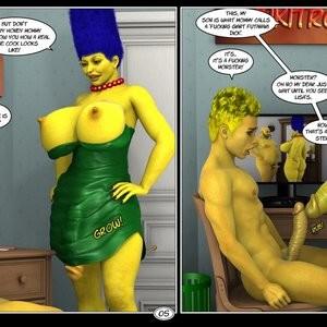 Marge's Big Secret Porn Comic 006