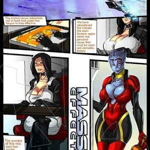 Mass Effect 1 Porn Comic 002