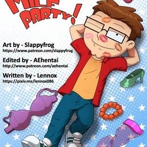 Porn Comics - Milf Party Porn Comic
