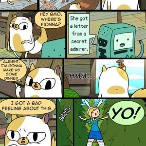 MisAdventure Time Special - The Cat, The Queen, And The Forest Porn Comic 002