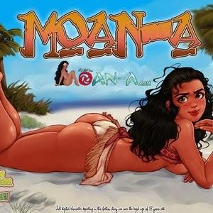 Porn Comics - Moan-A 2 Sex Comic