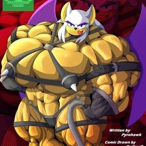 Porn Comics - Muscle Mobius 2 Cartoon Comic