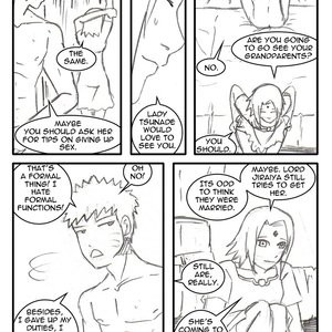 Naruto-Quest 1 - The Hero And The Princess! Porn Comic 006