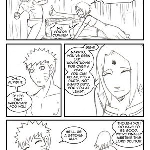 Naruto-Quest 1 - The Hero And The Princess! Porn Comic 007