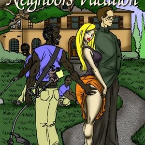 Porn Comics - Neighbors Vacation Sex Comic