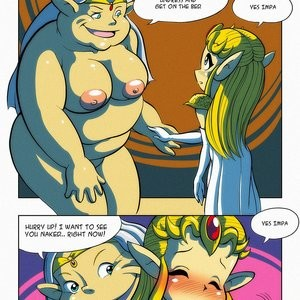 Oracle Of Excitation Porn Comic 003