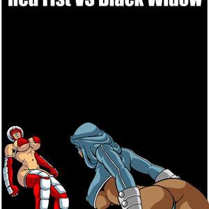 Porn Comics - Omega Fighters 4 – Red Fist VS Black Widow Cartoon Comic