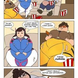Overweight Watch Porn Comic 008
